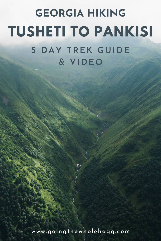 Trekking from Tusheti to Pankisi Valley