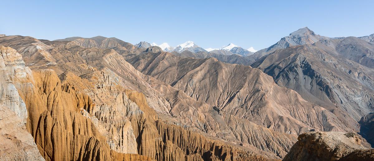 Upper Mustang Rocky Landscape