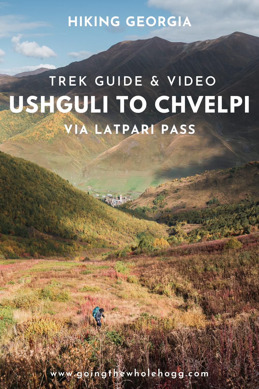 Hiking From Ushguli To Chvelpi Via Latpari Pass