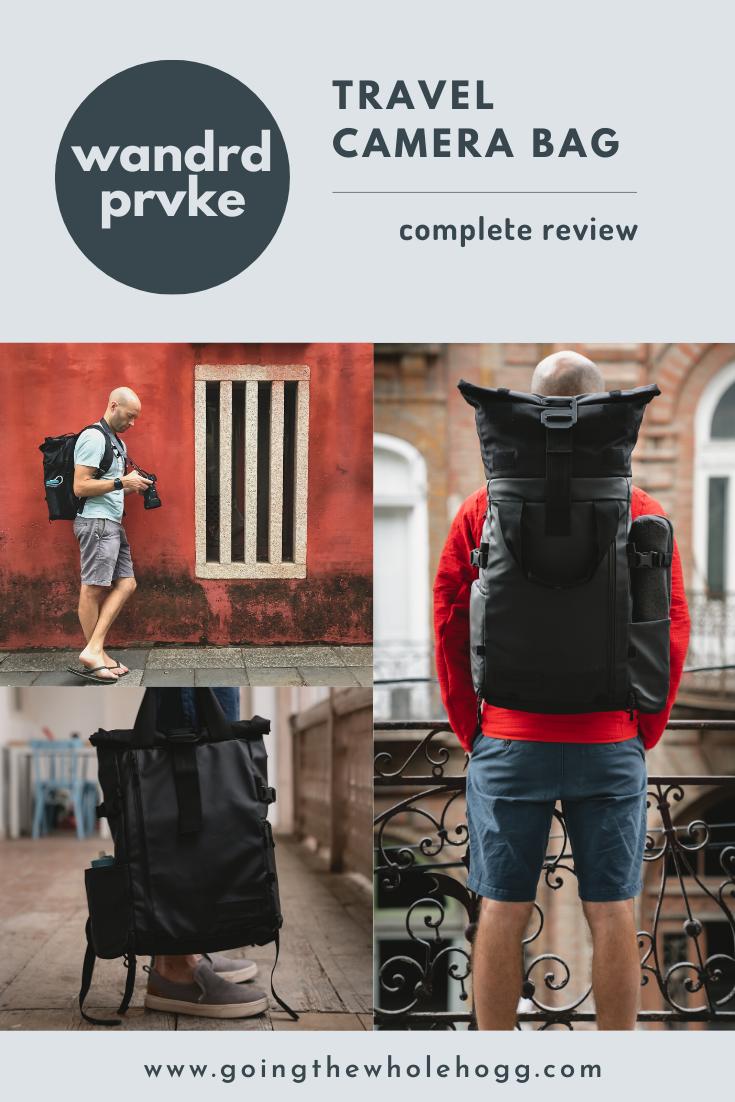 Gear Review: Wandrd PRVKE Travel Camera Bag
