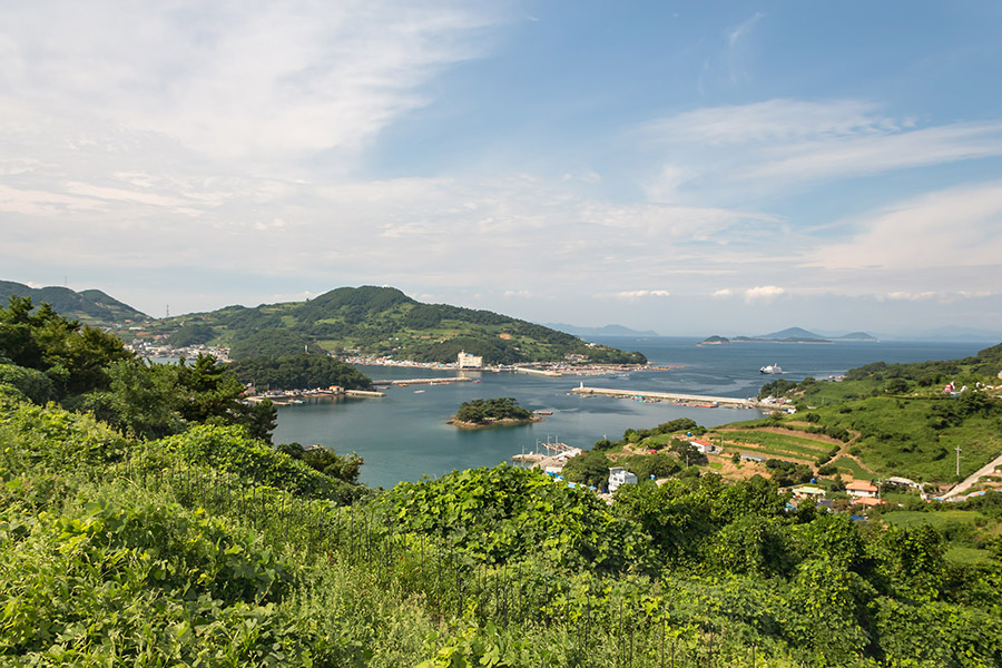 Yokjido A Korean Island Guide - View over Yokjido