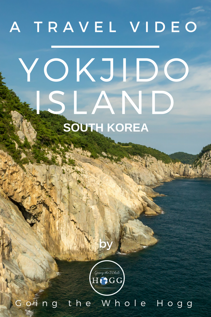 A Video and Guide to Yokjido Island, South Korea. Find out what to do, where to go, what to eat and where to stay. Includes details of camping and pension options, how to get there including ferry times and an awesome video! Hiking Korea | Camping Korea | South Korea Travel | Korea Travel Guide | South Korea Travel Tips | South Korea Island | Backpacking Korea | Road Trip Korea | East Asia Travel | Where to go in Korea | Fishing Korea | Travel Video #SouthKorea #Island via @goingthewholehogg